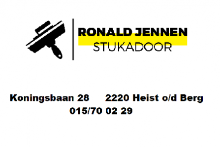 Ronald Jennen Stukadoor